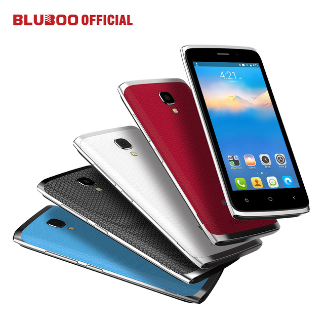"New BLUBOO Mini 3G WCDMA Smartphone Android 6.0 MTK6580 Quad Core 1.3GHz 1GB RAM 8GB ROM 8.0MP 4.5"" HD IPS Dual SIM Mobile Phone"
