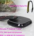 HiMedia TT Android TV Box Really 4K Network TV Set-Top Box Smart Player Hass Quad Core Chip 1G RAM 8G ROM+ Free Phone Stylus Pen