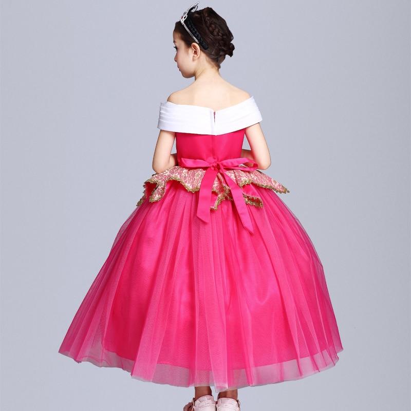 051c16e60f12 Ragazze dei capretti Sleeping Beauty Costumi di Carnevale Halloween  Principessa Aurora Vestito Da Fata Fancy Dress Up giochi di ruolo Outfits  in Ragazze dei ...
