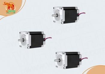 3 PCS 6-Leads 18.9Kgcm 1.8Degre 78mm CNC NEMA 23 Stepper Motor  of  Wantai