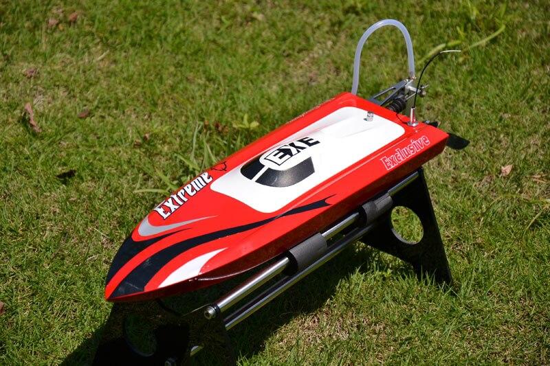 M390 PNP Fiber de verre électrique course RC bateau petits bateaux W/3100KV moteur sans brosse peinture rouge Mono Mini bateau TH02605