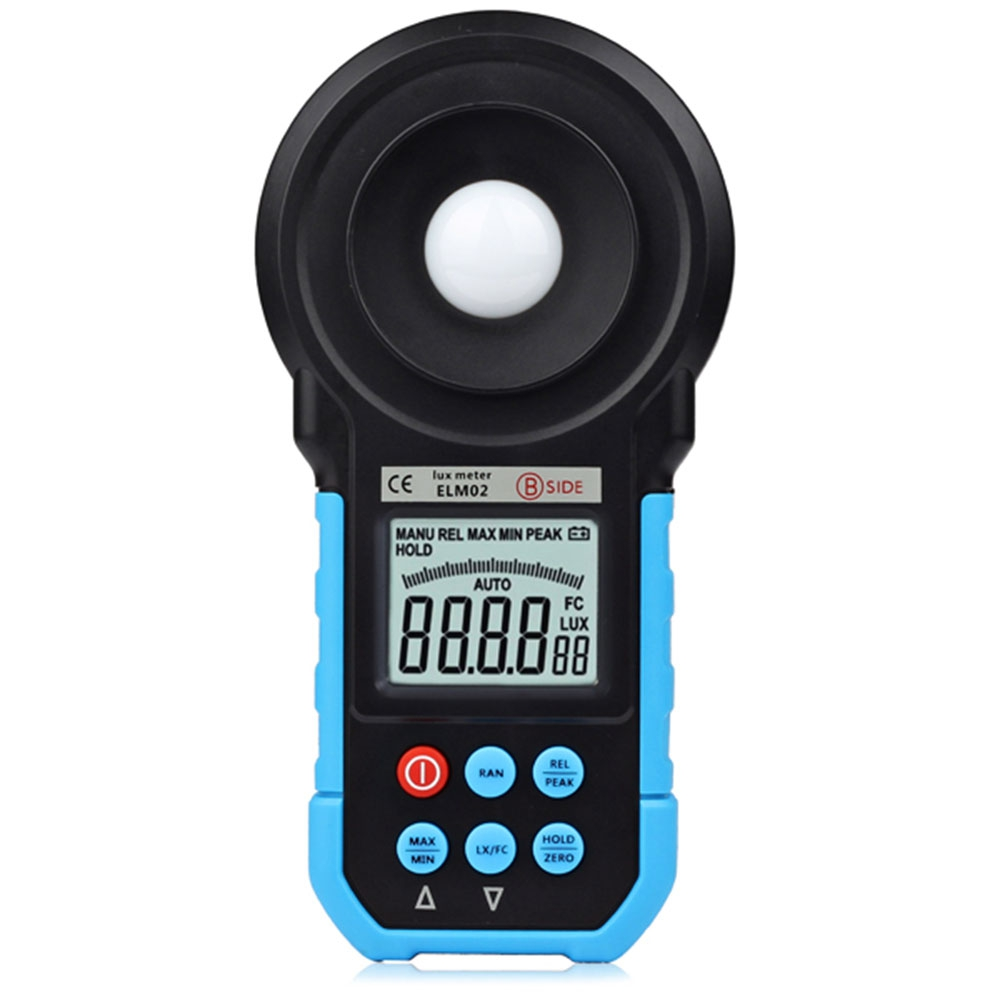 Illuminance Meter BSIDE ELM02 Digital LCD Lux FC Meter Light Illuminance Tester Auto Range Professional Electrical Instrument