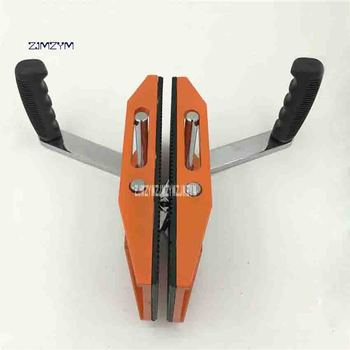 New Double Handle Flat Glass Porterage Clip High Quality Stone Ceramic Board Marble Handling Clip Bearing 150kg 5-50mm