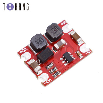 DC-DC Automatic Buck Boost Power Module Step Up and Down Board Input 3V-15V Output 3.3V/5V/4.2V/9V/12V Electronic DIY PCB dc dc voltage converter positive to negative step down power supply boost buck module 3 15v to 3 3v 5v 6v 9v 12v 15v