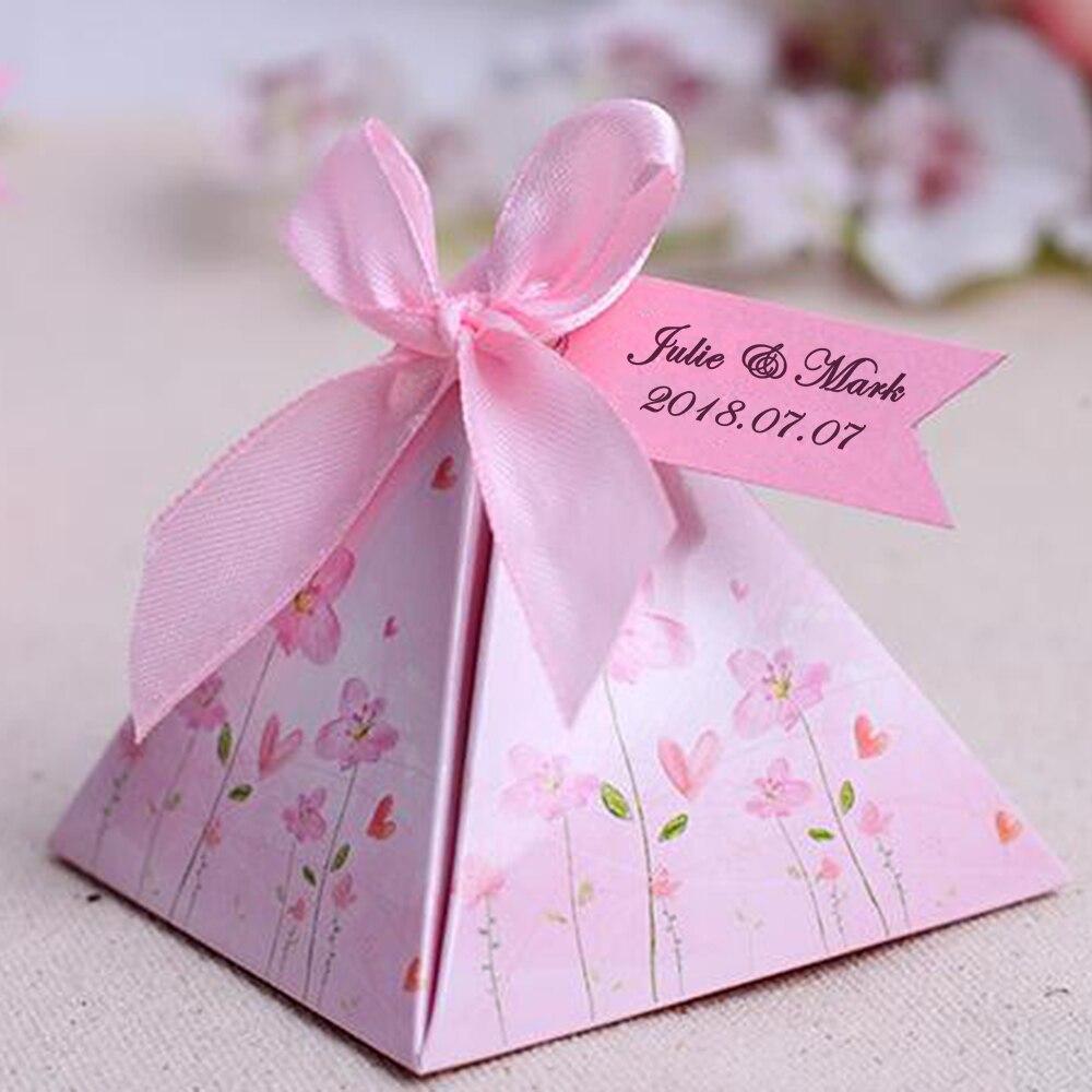 Laser cut wedding favor candy box Bride Groom, Wedding invitation ...