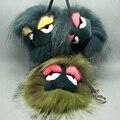 Moda engraçado careta monstro verde pele de raposa brinquedos de pelúcia de presente de acessórios Karlito frete grátis
