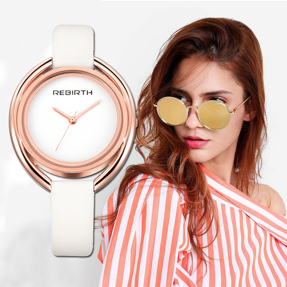 REBIRTH Fashion Women's Watches Montre Femme Ladies Wrist Watch For Women Bracelet Clock Female Reloj Mujer Saati Drop Ship Saat