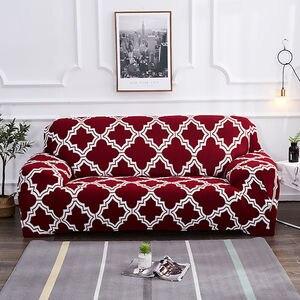 Image 4 - Housse de canapé élastique de Style noël
