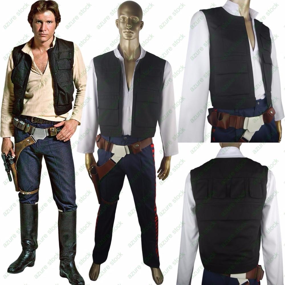 Žvaigždžių karų Han Solo kostiumas ESB Cosplay Helovinas - Karnavaliniai kostiumai - Nuotrauka 1