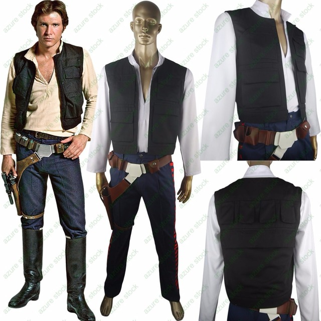 Star Wars Han Solo Costume Esb Cosplay Halloween Costume Xmas Gift
