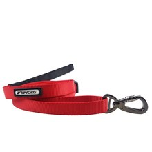 Dog Pet Lead Leash for Dogs Cats Red Nylon Walk Dog Leash Selectable Size Outdoor Security Training Dog Harness