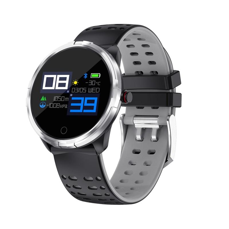 Astuto della vigilanza degli uomini Del Braccialetto di Sport Tracker Smartband Pressione Sanguigna Pedometro Telefono Fitness Sonno Monitor reloj relogio impermeabile