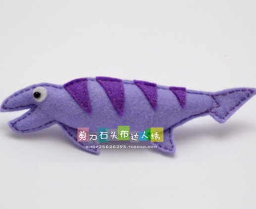 DIY jurassic 人形生地はキット不織布クラフト Diy の縫製セット手仕事材料 DIY 針仕事 supplie
