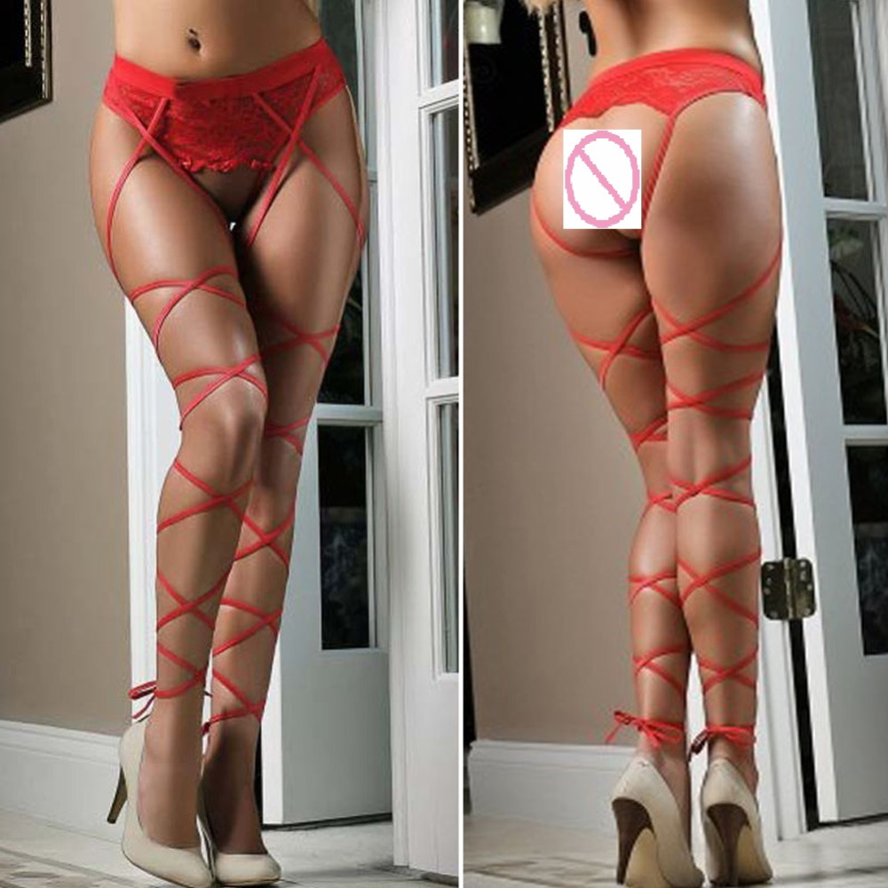 c3aea8ab06b54 New Women Sexy Lace Siamese Socks Top Thigh Highs Stockings Sock Suspender  Garter Belt Female Pantyhose Exotic Appare Lingerie H-in Hosiery from  Novelty ...