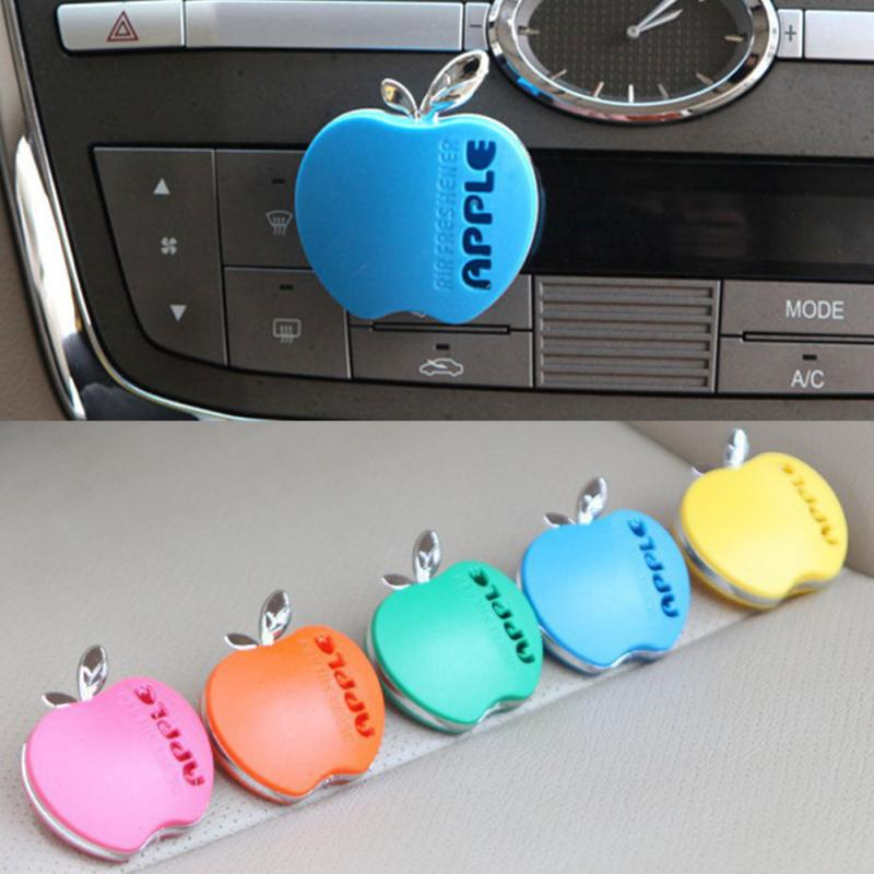 Car Outlet Perfume Cute Apple Shape Smell Remover Various Odor Type Decoration