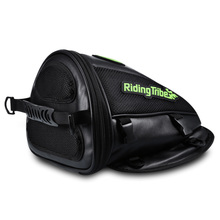 PU Leather Motorcycle Saddle Bags Multifunctional Waterproof Motocross Moto Racing Oil Tank Tail