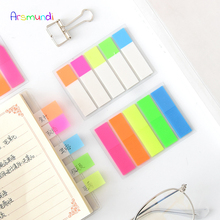 Arsmundi 100 Pages   Kawaii Memo Pad Post It Note Sticky Paper Stationery Planner Stickers Notepads Office School Supplies 20PCS