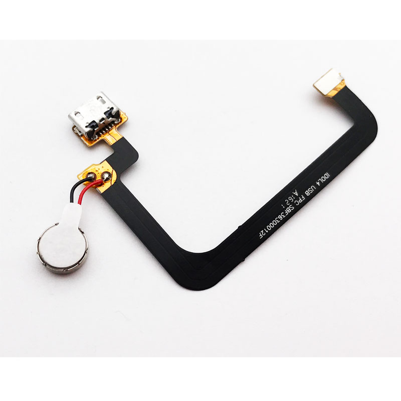 Original Vibration Module Dock Connector Charging Port USB Charging Port Flex Cable For BlackBerry DTEK50 / Dtek50 Replacement