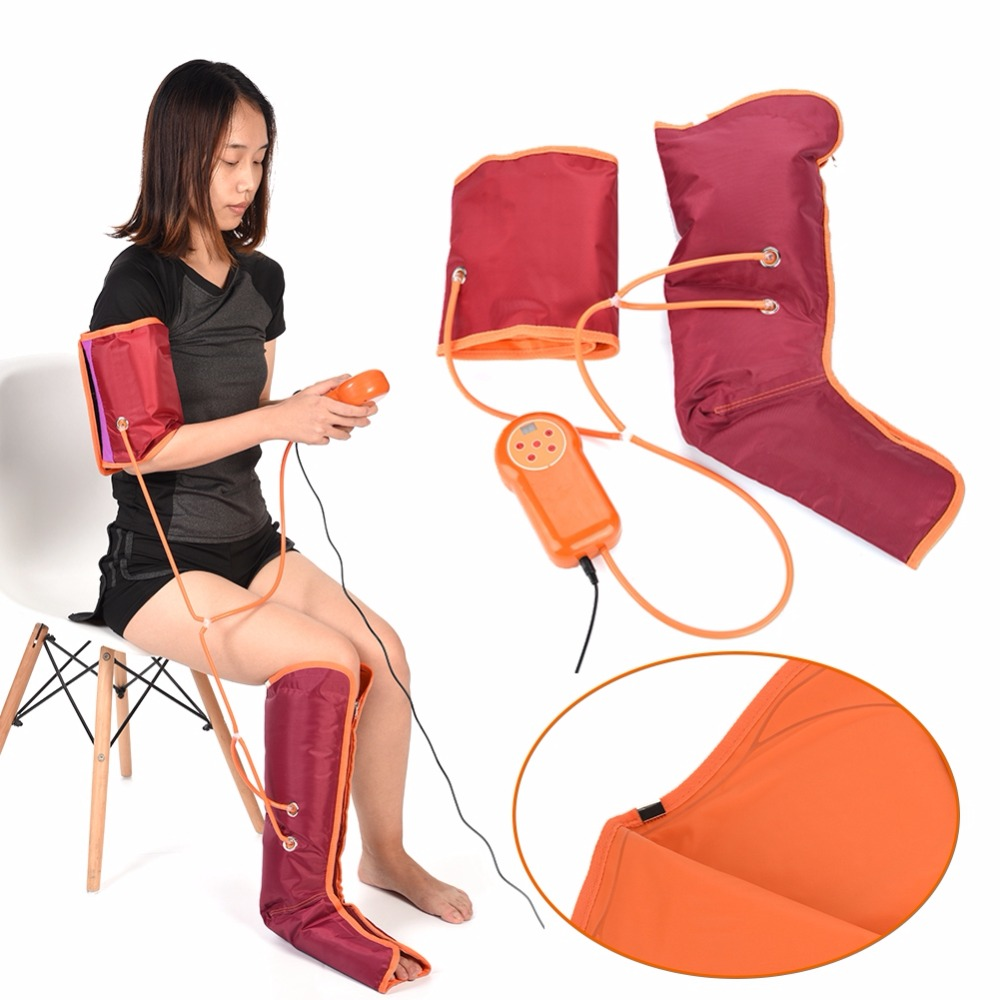 Electric Leg Arm Cuff Massage Machine Circulation Leg Wraps Air Compression Arm Leg Massager For Arm