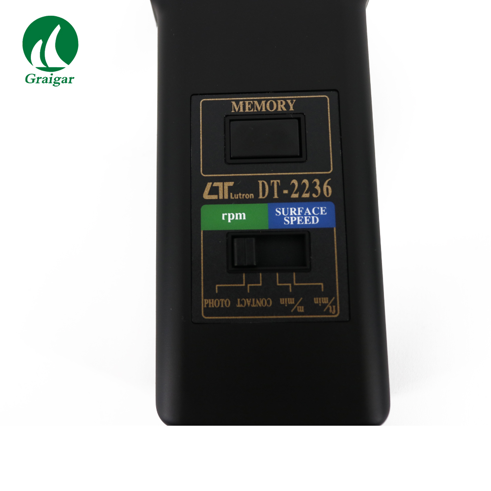 DT2236 Multifunctional, one instrument combines PHOTO TACH& CONTACT TACH - 5