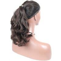 CARA еврейский парик 100% необработанные Европейской Девы человеческих волос парики натуральный волнистые кошерный парики спортивные Bandfall