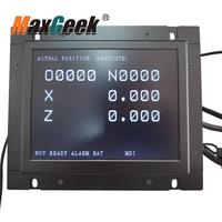 Maxgeek A61L 0001 0093 D9MM 11A A61L 0001 0095 A61L 0001 0072 9 Inch LCD Monitor Replacement for FANUC CNC System CRT