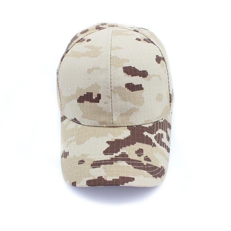 Camp Sun-proof Camouflage WomenShading Hunting Cap Training Hat Summer Color BaseballCap Men