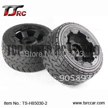 5B Rear Highway-road Wheel Set (TS-H85030-2)x 2pcs for 1/5 Baja 5B, SS , wholesale and retail 5b rear highway road wheel set with nylon super star wheel ts h95085 x 2pcs for 1 5 baja 5b wholesale and retail