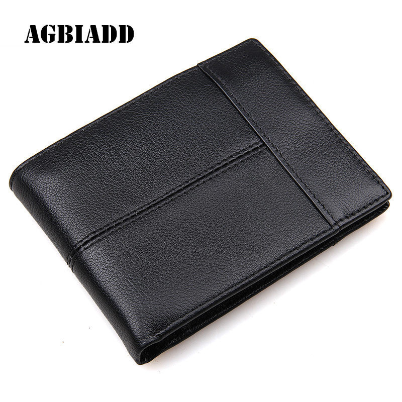Italian Style Men Purse Short Black Horizontal Genuine Leather Wallet Man Card Holder Purse With Coin Pocket 264 italian visual phrase book