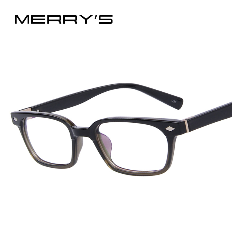 MERRYS Fashion Men Women Rivet ? Eyeglasses Eyeglasses ...