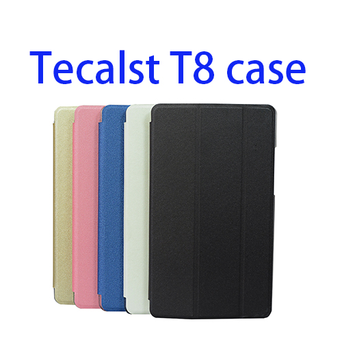PU Leather Case For Teclast T8 8.4 Tablet PC,Ultra-thin Protective Case For Teclast T8 universal 61 key bluetooth keyboard w pu leather case for 7 8 tablet pc black