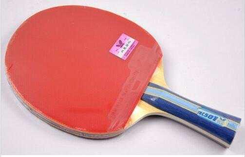 ddd5bc183 501 borboleta 502 Ténis de Mesa Raquete Ping Pong Paddle Bat Lâmina  Shakehand FL