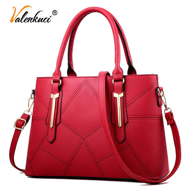 0a02dd2d9d Brand High Fashion Handbag Women Leather Handbag Black Women Tote Bags  Female Hobos Shoulder Bag Sales