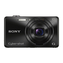 SONY  DSC-WX220 18.2 MP Digital Camera with 2.7-Inch LCD Full HD video recording free shipping(China)