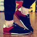2016 Новая Мода Мужчины Мода Открытый Прогулки сохранение баланса Повседневная Обувь мужской Классический Дышащий zapatillas deportivas