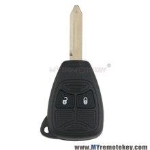 Мститель Jeep Дистанционного глава ключ 2 кнопка 434 МГц для Chrysler PT Cruiser Sebring Dodge Liberty 2008 2009 2010 remtekey