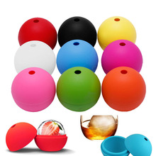 Whiskey Ice Ball Maker Cube Silicon Bar Sphere Round Mould DIY Mold