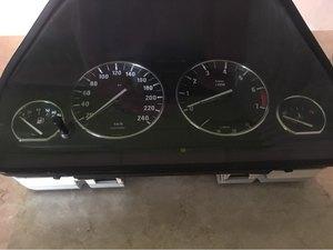 Image 2 - Chrome Styling Dashboard Gauge Ring Set For BMW E32 / E34 Models