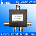 4 maneira poder Splitter 800 - 2500 MHz Signal Booster divisor de sinal de telefone celular repetidor divisor