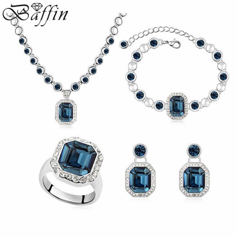 Vintage Montana collier boucles d'oreilles Bracelet bague africaine MAXI ensembles de bijoux cristaux de SWAROVSKI pour les femmes déclaration bijoux