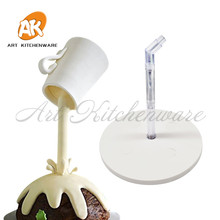 Support Structure Frame Anti Gravity Cake Pouring Kit Hanging Decorative Stand Birthday Wedding Party DIY Tools