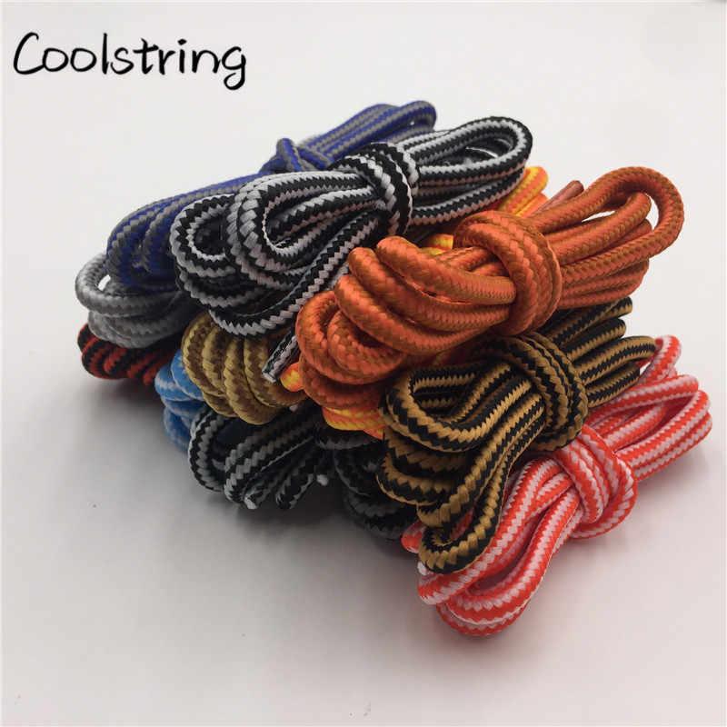 Coolstring Polyester Ropelace Anti-schleudern Außen Schnürsenkel Klettern Riemen Wandern Bergsteigen Zwei Ton Runde Schnürsenkel
