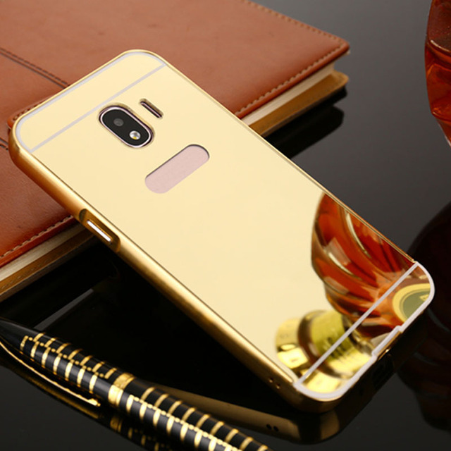 timeless design 45712 60c40 US $3.33 |Luxury Case for Samsung Galaxy J2 2018 J2 Pro 2018 Case Mirror  Phone Back Cover Coque-in Phone Bumper from Cellphones & Telecommunications  ...