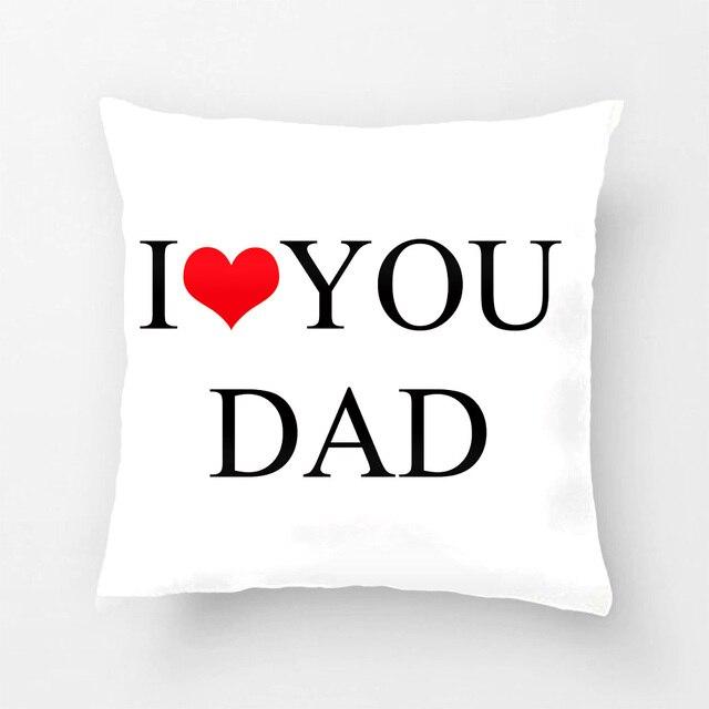 Je T'aime Papa Oreiller Cas, père Jour Taie D'oreiller