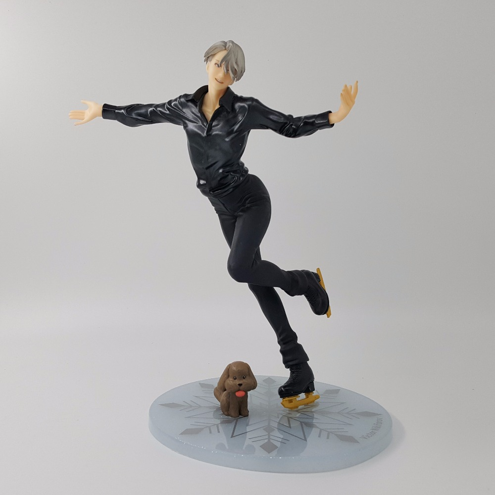 Yuri On Ice Figure Victor Nikiforov MH PVC Action Figure 23CM Doll Toy Model Action Figuras Anime Yuri On Ice Figurine pop figurine collection toy figure model doll