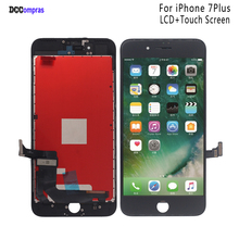 For iPhone 7 Plus LCD Display Touch Screen Digitizer Replacement Parts For iPhone 7Plus LCD Display Phone Parts Free Tools new 7 for texet tm 7086 lcd display screen 164 100mm tablet pc repairment parts free shipping