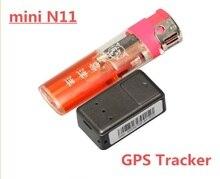 Mini N11 spy Realtime GSM/GPRS/GPS DEL Perseguidor DEL CABRITO/Del Coche/Sistema de Perro Rastreador Localizador de Posicionamiento rastreador de Televigilancia Escuchar