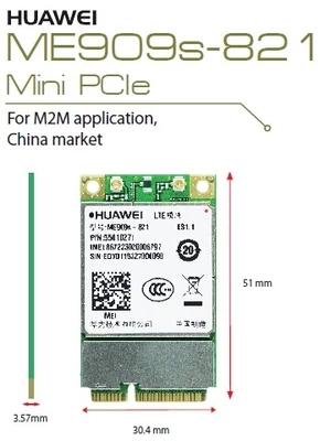 Huawei 4G module ME909S-821 Mobile Unicom Telecom Netcom 3 with 4G genuine original module