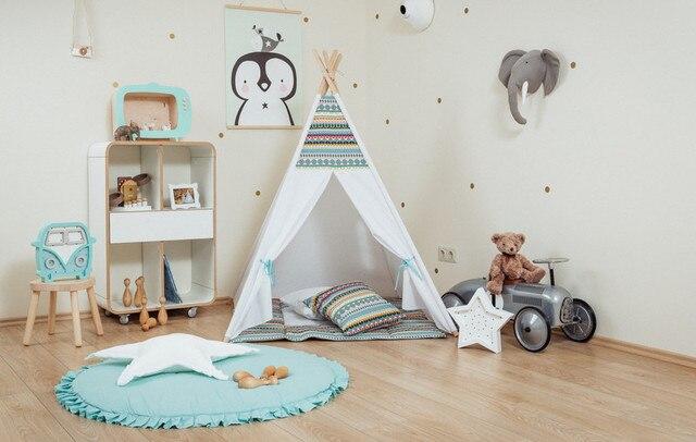 child indoor tent. Boho Teepee Kids Play Tent Child Indoor Tipi