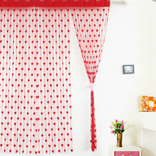 Home & Kitchen 200cm x 100cm Silk String Curtain blinds Window Door Divider Sheer Curtains Valance Window kitchen curtains